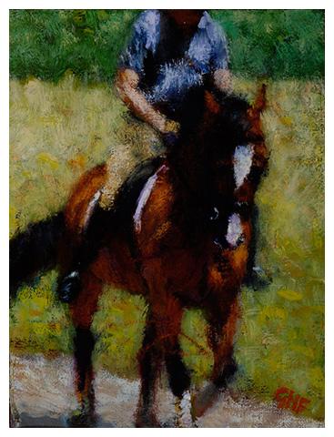 Dressage-Horse-9'x12'_1