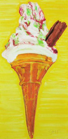 Big Cone.oil.10×20